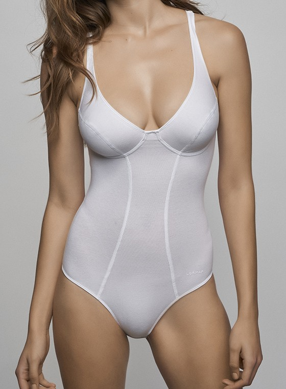 Body intimo in Cotone - New Fitness