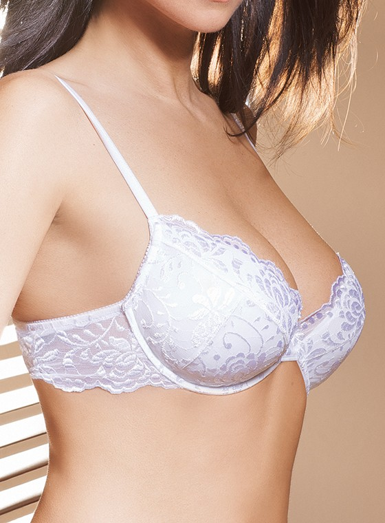 Reggiseno push up in pizzo - Dea